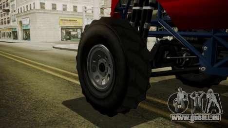 GTA 5 Vapid The Liberator IVF pour GTA San Andreas sur la vue arrière gauche