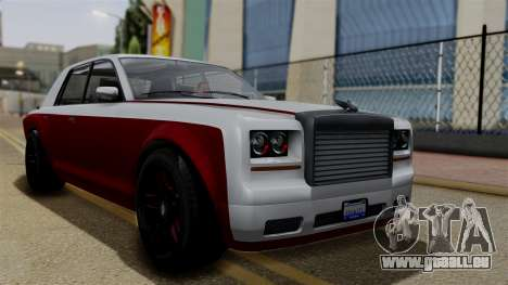 Morningstar Justice (Super Diamond) from SR3 für GTA San Andreas
