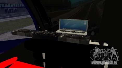 Bus in Thailand pour GTA San Andreas sur la vue arrière gauche