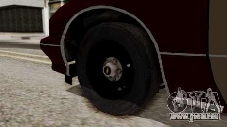Chevy Caprice Station Wagon 1993- 1996 SAFD pour GTA San Andreas sur la vue arrière gauche