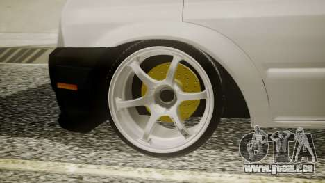 Ford Transit Hasta Ticariii pour GTA San Andreas sur la vue arrière gauche
