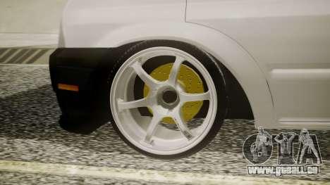 Ford Transit Hasta Ticariii für GTA San Andreas zurück linke Ansicht