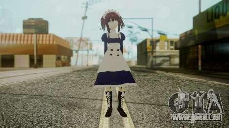 Mey-Rin [Kuroshitsuji] für GTA San Andreas zweiten Screenshot