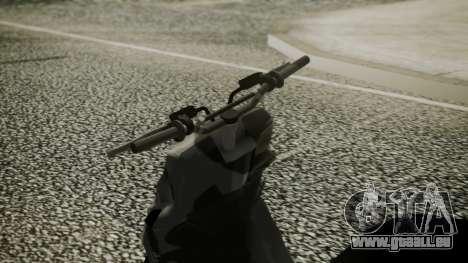 MBK Booster Rocket Tuning pour GTA San Andreas vue de droite