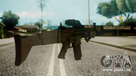 SCAR-L Custom pour GTA San Andreas deuxième écran