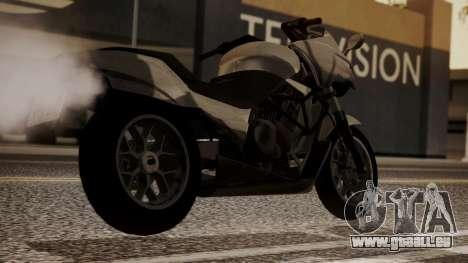GTA 5 Dinka Thrust für GTA San Andreas linke Ansicht