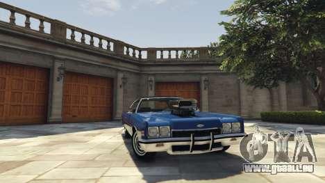 Chevrolet Impala 1972 für GTA 5