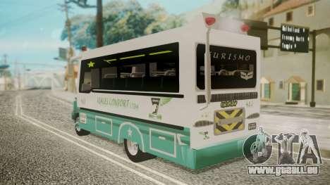 Chevrolet B70 Bus Colombia für GTA San Andreas linke Ansicht