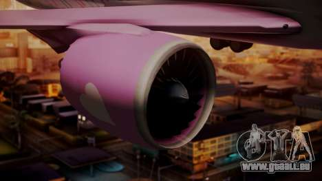 Boeing 787-9 LoveLive Livery für GTA San Andreas rechten Ansicht