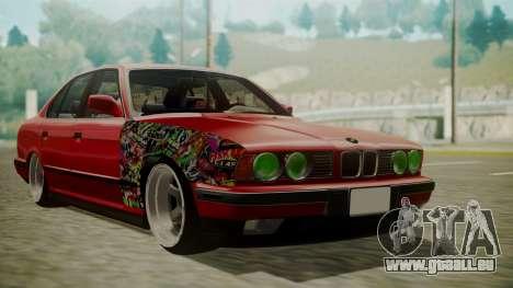 BMW 535i E34 pour GTA San Andreas