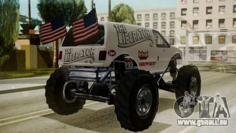 GTA 5 Vapid The Liberator für GTA San Andreas linke Ansicht