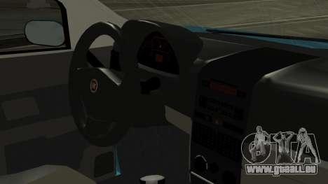 Fiat Albea Sole für GTA San Andreas rechten Ansicht