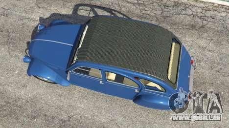 GTA 5 Citroen 2CV v1.1 Rückansicht