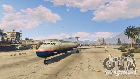 GTA 5 McDonnell Douglas MD-80 vierten Screenshot