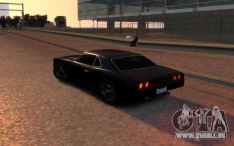 Sabre Vigero Muscle Car für GTA 4 hinten links Ansicht