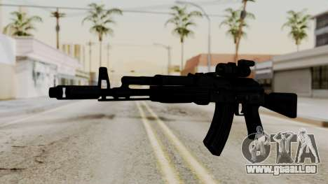 AK-103 with Rifle Dot Aimpoint M2 für GTA San Andreas