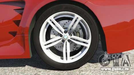 GTA 5 BMW M6 (E63) hinten rechts