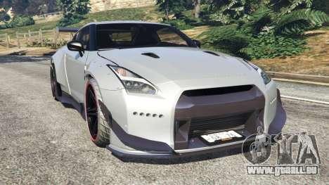 Nissan GT-R (R35) [RocketBunny] pour GTA 5