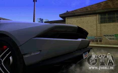 Lamborghini Huracan LP610 VELLANO für GTA San Andreas rechten Ansicht