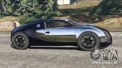 GTA 5 Bugatti Veyron Grand Sport v5.0 vue latérale gauche