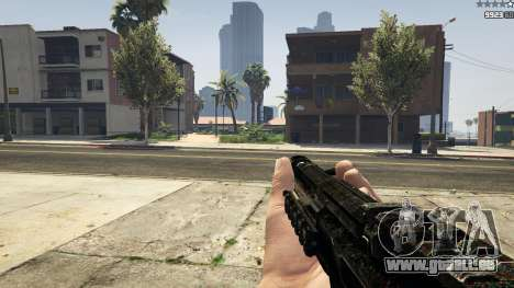 GTA 5 MW3 MP5 sechster Screenshot