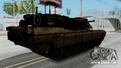 M1A2 Abrams für GTA San Andreas linke Ansicht