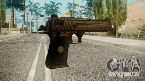 Desert Eagle by EmiKiller pour GTA San Andreas deuxième écran