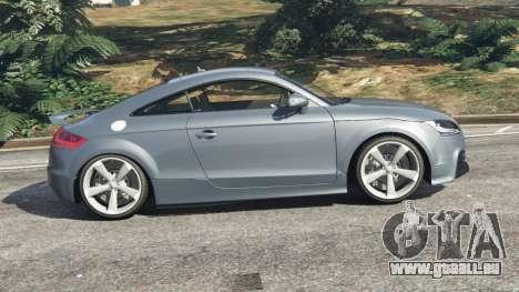 GTA 5 Audi TT RS 2013 vue latérale gauche