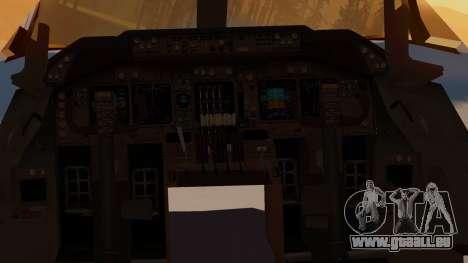 Boeing 747-100 United Airlines Friend Ship für GTA San Andreas Rückansicht