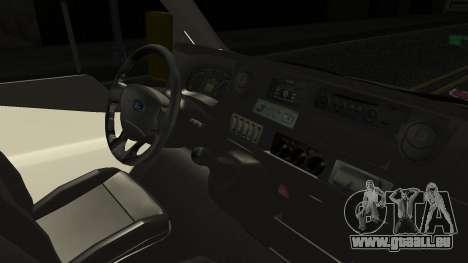 Ford Transit Hasta Ticariii pour GTA San Andreas vue de droite