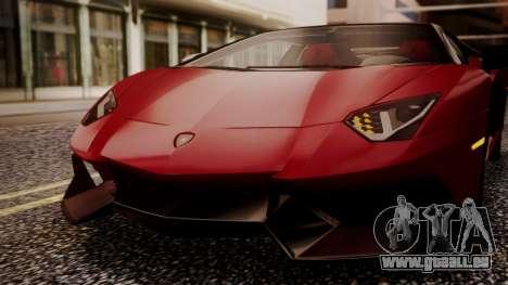 Lamborghini Aventador MV.1 für GTA San Andreas Seitenansicht