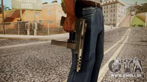 Tec 9 by catfromnesbox für GTA San Andreas dritten Screenshot