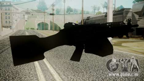 M249 Battlefield 3 für GTA San Andreas dritten Screenshot