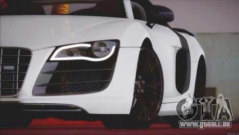 Audi R8 GT 2012 Sport Tuning V 1.0 pour GTA San Andreas vue de côté
