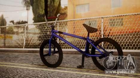 Nueva BMX pour GTA San Andreas laissé vue