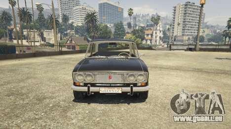 GTA 5 VAZ 2103 arrière droit vue de côté