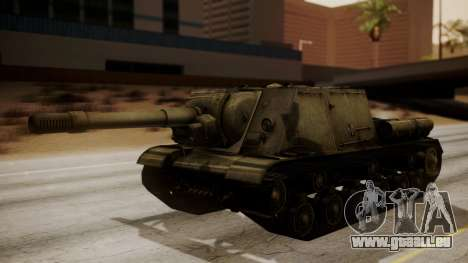 ISU-152 from World of Tanks pour GTA San Andreas