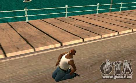 50 Animations v1.0 pour GTA San Andreas deuxième écran