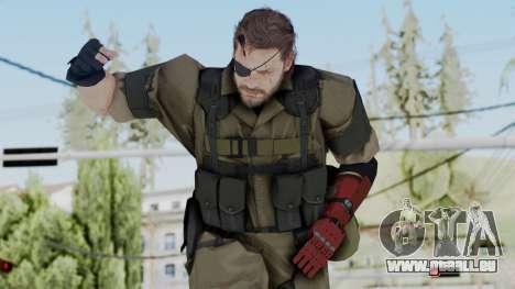 MGSV Phantom Pain Snake (Olive Drab Version) pour GTA San Andreas