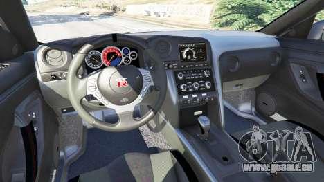 GTA 5 Nissan GT-R (R35) [RocketBunny] avant droite vue de côté