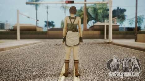 Resident Evil Remake HD - Jill Valentine für GTA San Andreas dritten Screenshot