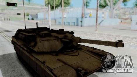 M1A2 Abrams für GTA San Andreas rechten Ansicht