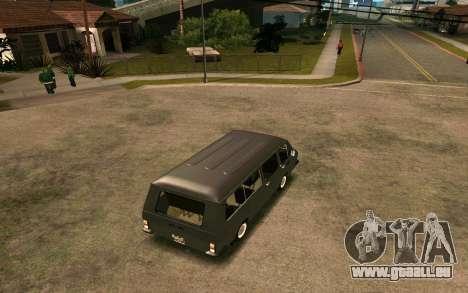 RAF-2203 für GTA San Andreas Rückansicht