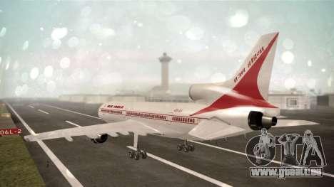 Lockheed L-1011 Air India für GTA San Andreas linke Ansicht