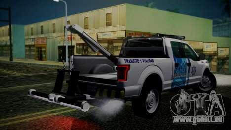 Ford F-150 2015 Towtruck für GTA San Andreas linke Ansicht