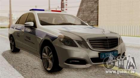 Mercedes-Benz E500 Innenministeriums Verkehrspol für GTA San Andreas