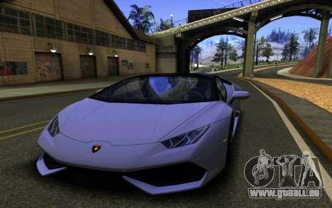 Lamborghini Huracan LP610 VELLANO für GTA San Andreas