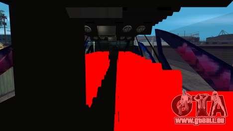 Bus in Thailand pour GTA San Andreas vue de droite