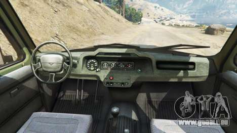 UAZ-3159 bars v2.0 für GTA 5