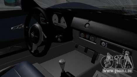 Opel Speedster Turbo 2004 Stock pour GTA San Andreas vue de droite